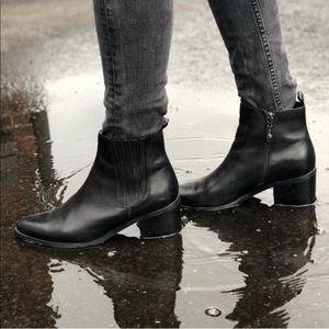 Blondo Waterproof Leather Booties